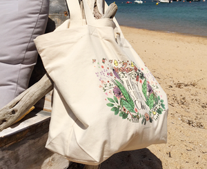 "Sac de plage ""HAPPY SUMMER CHIC"""
