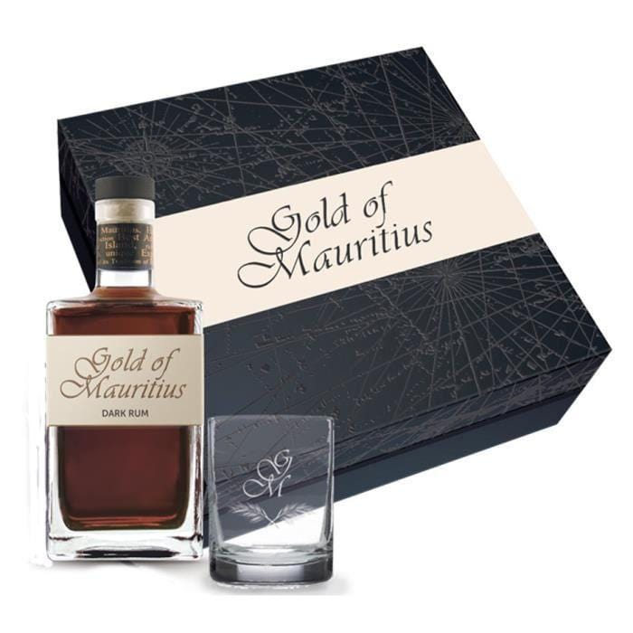 GOLD OF MAURITIUS COFFRET GOLD  0,70 L