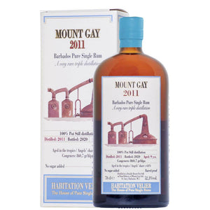 Mount Gay 2011 vellier 9 ans