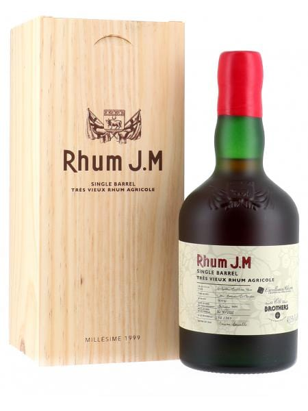 RHUM JM - 21 ANS, OLD BROTHER'S - 43,15% 1999
