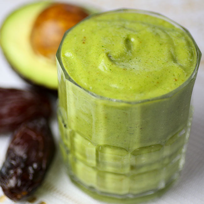 Creamy Green Protein Smoothie