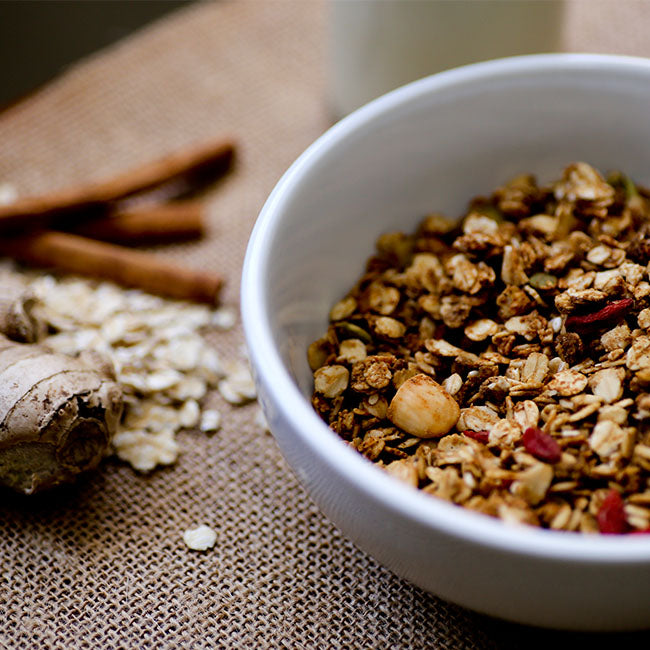 Gingerbread Granola