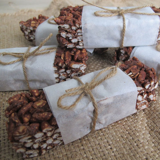 Chocolate Rice Crackle Bars