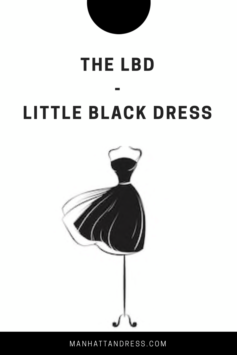 The LDB- Little Black Dress