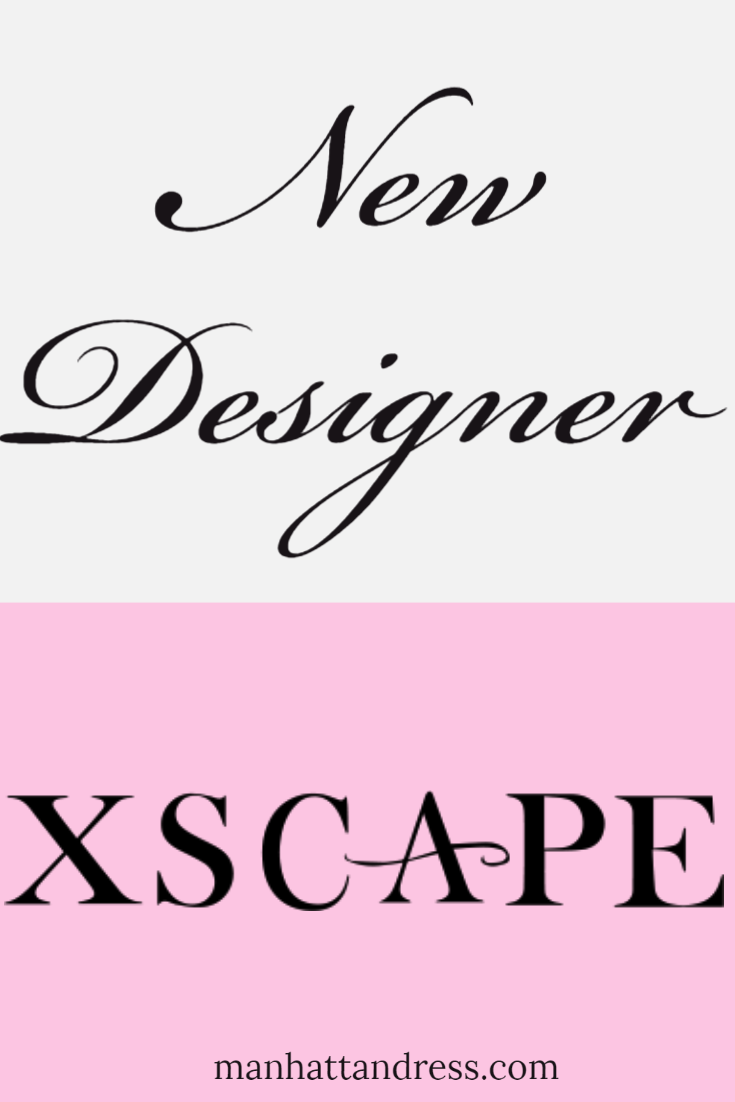 New Designer: Xscape!