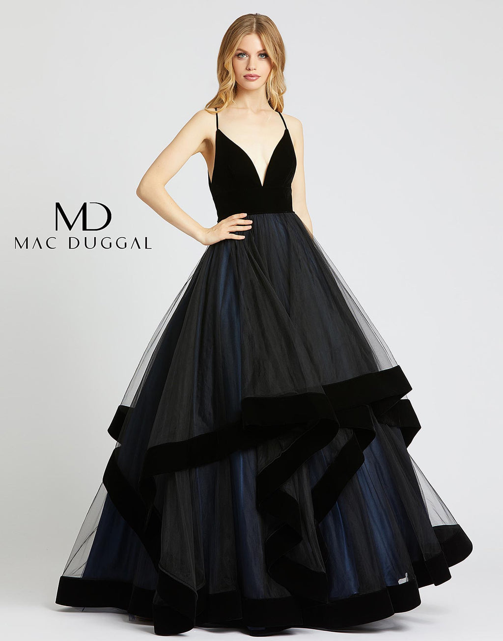Ballgowns by Mac Duggal 67106H