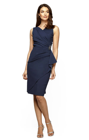 Short Side Ruched Dress