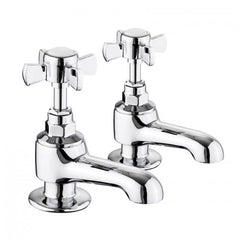 "Lux Bath Taps 1/2"" Pair"
