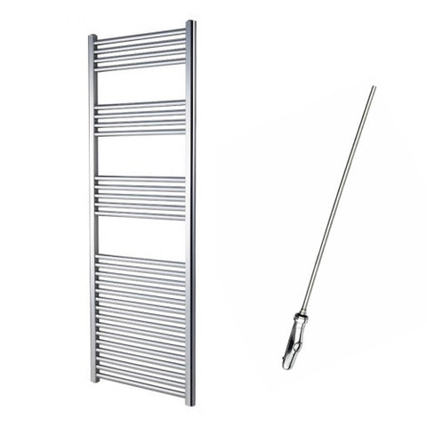 Sahara Curved 1600 x 600mm Electric Towel Rail