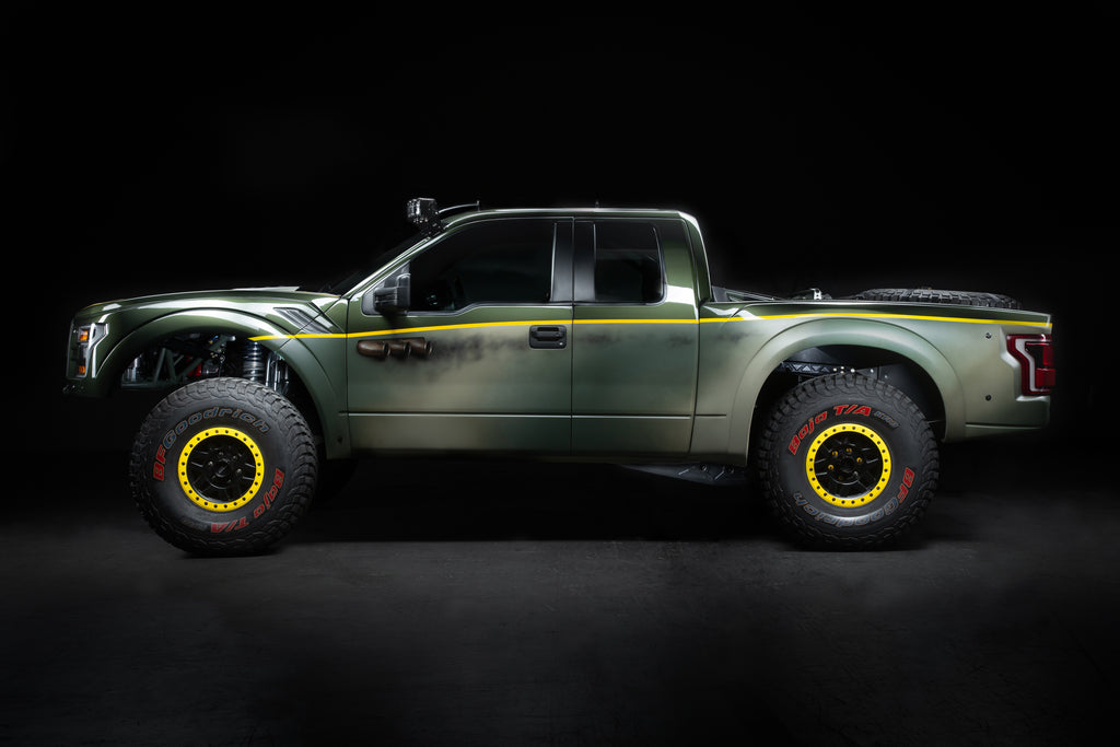 Spitfire Racing Ford Raptor Luxury Pre-Runnner