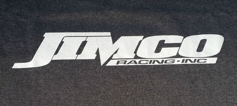 Jimco Apparel Grey T-Shirt with White Jimco Logo
