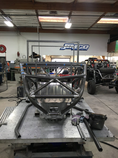 "Jimco RZR #2 ""Turbo Charged "" being built for Wayne Matlock"