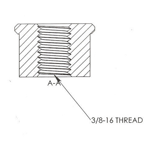 3/8-16 Threaded Bung