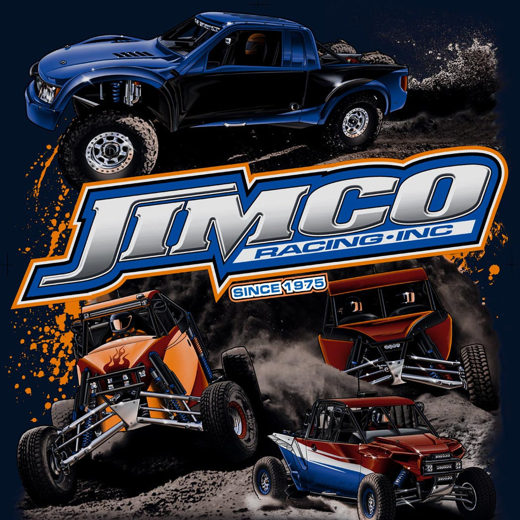Jimco T-Shirt: 4 Vehicles