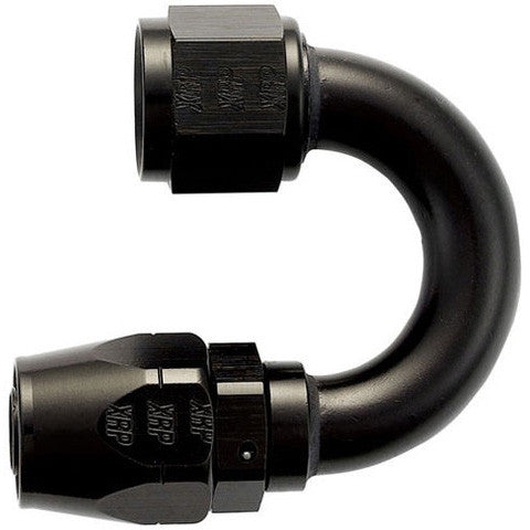 180 degree double swivel AN hose end