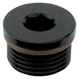 AN O-ring boss hex port plug