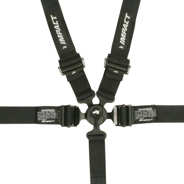 Impact 16.5 Restraint - Camlock 5 Point Harness (Pinned on Sub) - Jimco Racing Inc