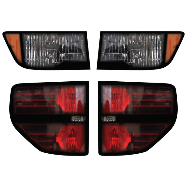 Jimco Raptor Head & Tail Light Decal - Jimco Racing