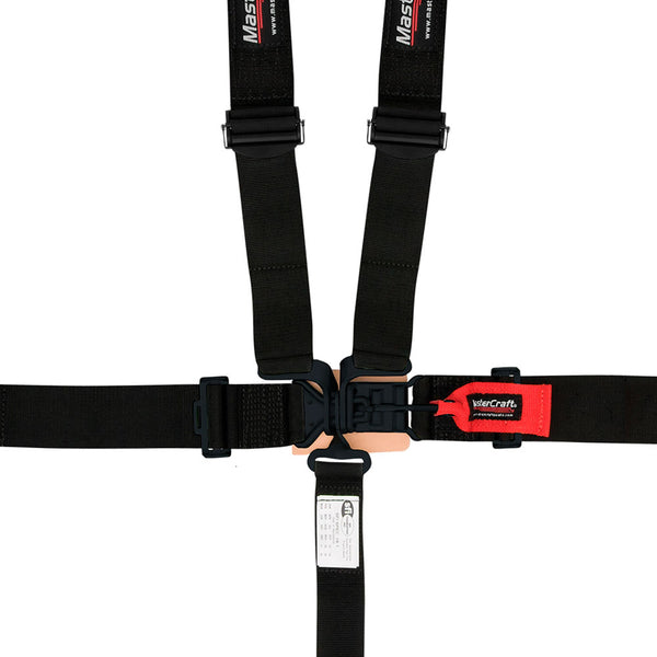 Mastercraft Restraint - 16.1 Latch and Link 5 Point Harness w/Pads - Jimco Racing