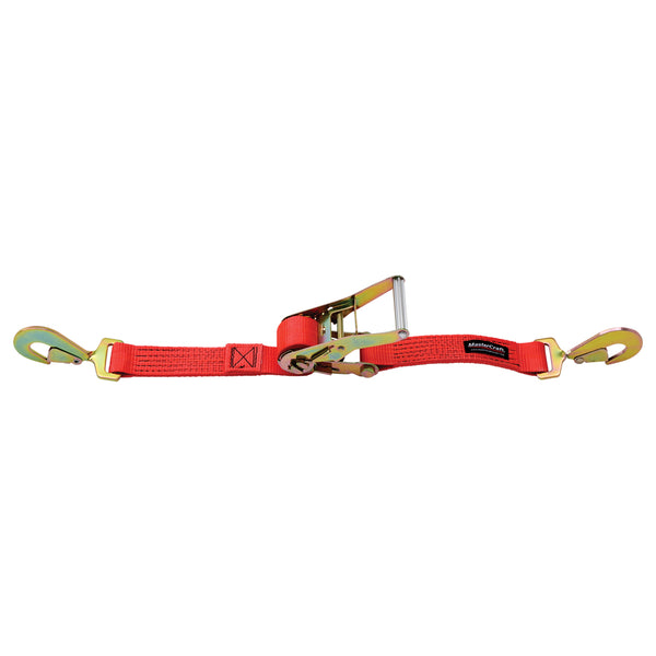 "Mastercraft 2"" x 7' Strap with Twisted Snap Hooks - Jimco Racing"