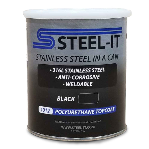Steel-It BLACK - Quart #1002Q - Jimco Racing