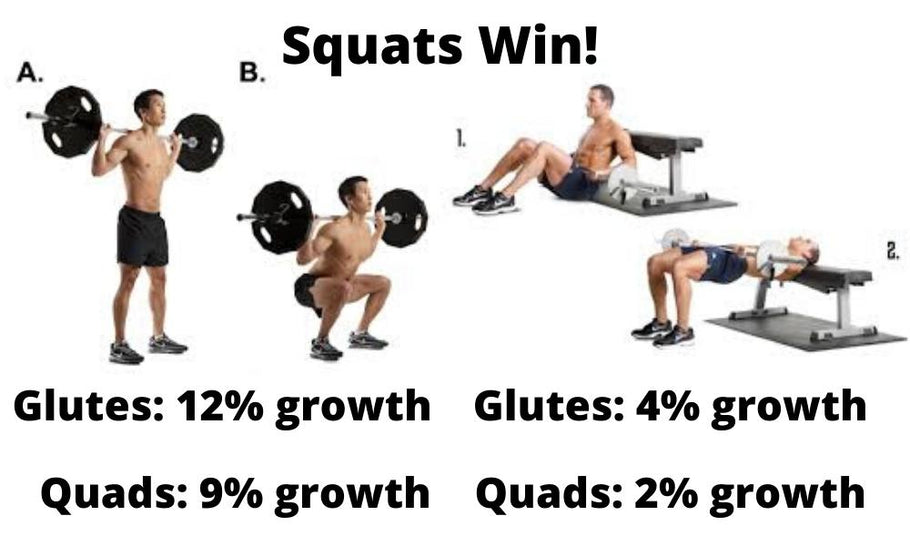 Why Hip Thrusts Are Inferior to the Squat
