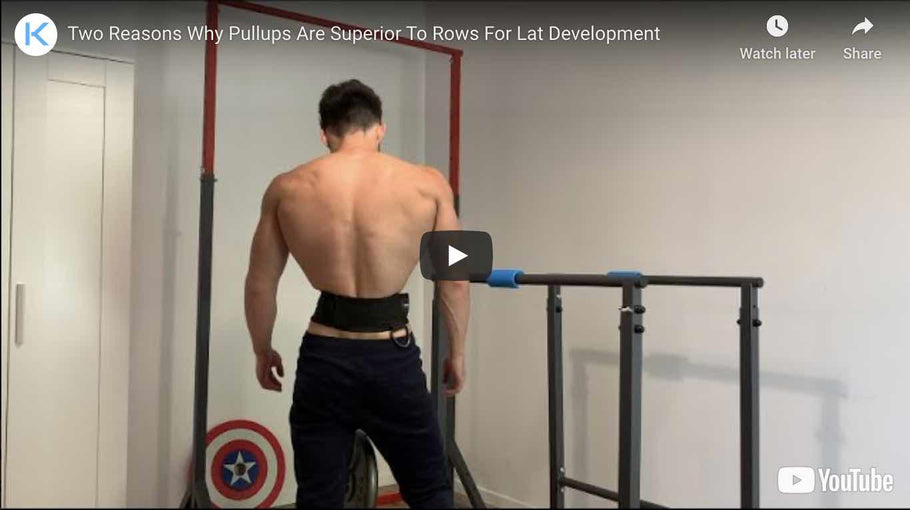 2 Reasons Why Pullups Are Superior to Rows For Lat Development