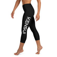 Load image into Gallery viewer, Kensui Side Capri Leggings