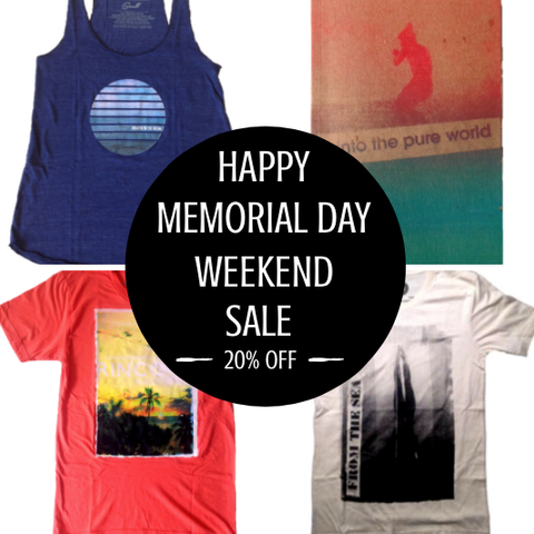 Memorial Day Weekend Sale - On Now