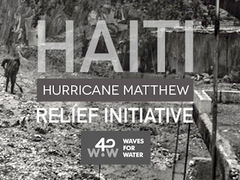 haiti waves for water hurricane matthew relief