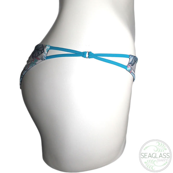 Seaglass Swimwear #225 String Side Brazil Bikini Bottom - The Uncharted Studio