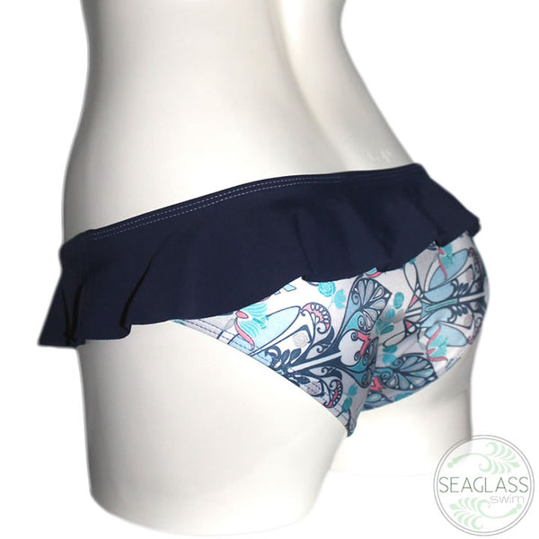 Seaglass Swimwear #229 Cali Ruffle Bottom