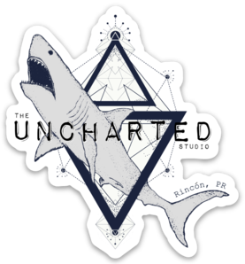 Uncharted Shark Sticker