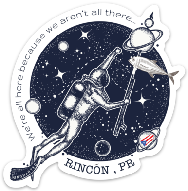 Rincon Space Cadets Sticker
