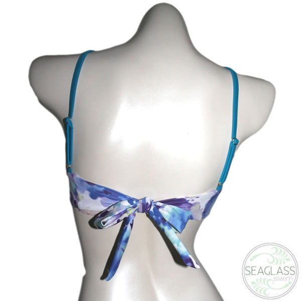 Seaglass Swimwear #326 Bralette Bikini Top with Bow - The Uncharted Studio