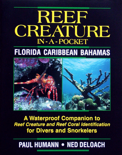 Reef Creature Waterproof Mini Book - Puerto Rico, Florida, Caribbean and Bahamas