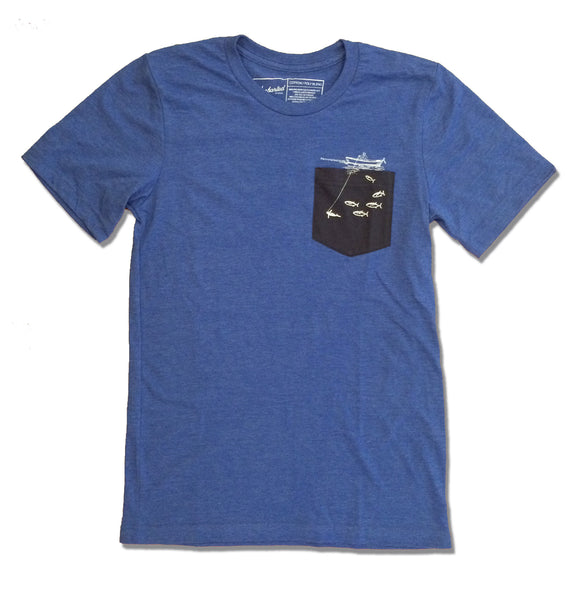 Fisherman Pocket Tee - The Uncharted Studio
