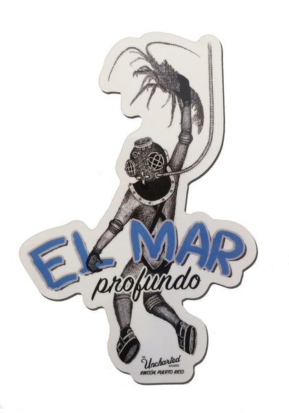 El Mar Profundo Sticker