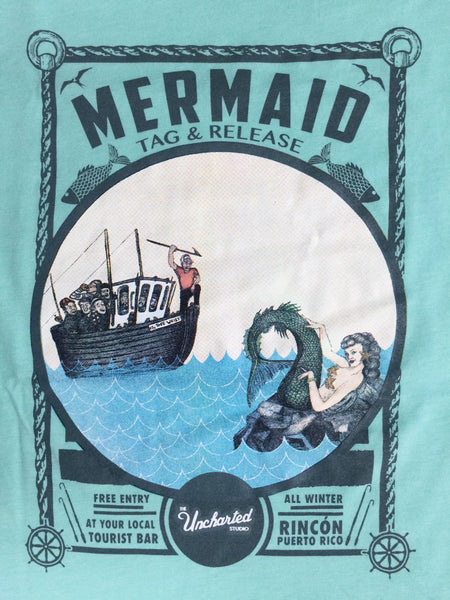Mermaid Tag and Release Tee