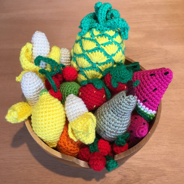 Crochet Fruit