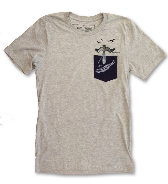 Pelican Pocket Tee - The Uncharted Studio