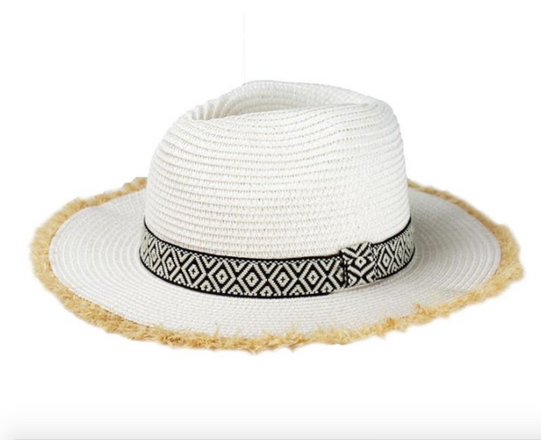 Fringed Sun Hat