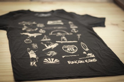 Rincon Icons Tee - The Uncharted Studio