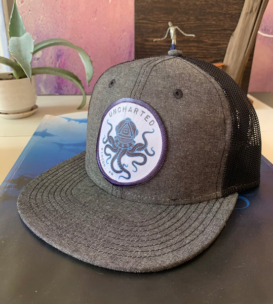 Uncharted Octopus Snapback Hat
