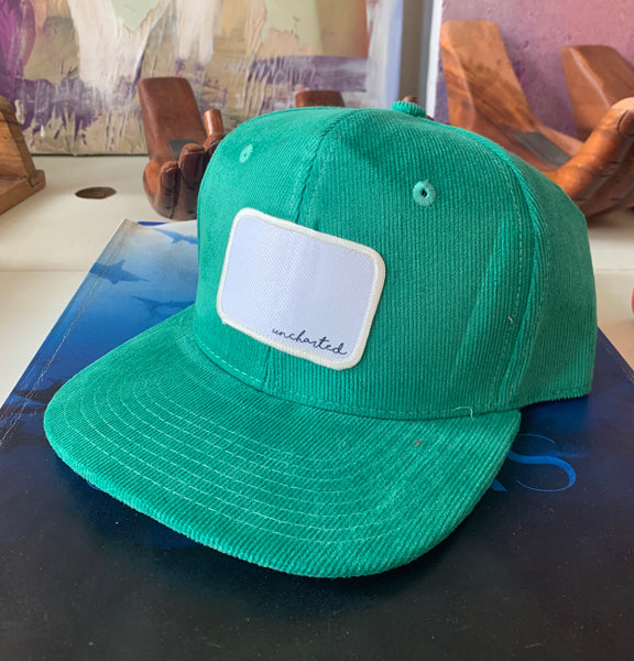 Uncharted Corduroy Snapback Hat