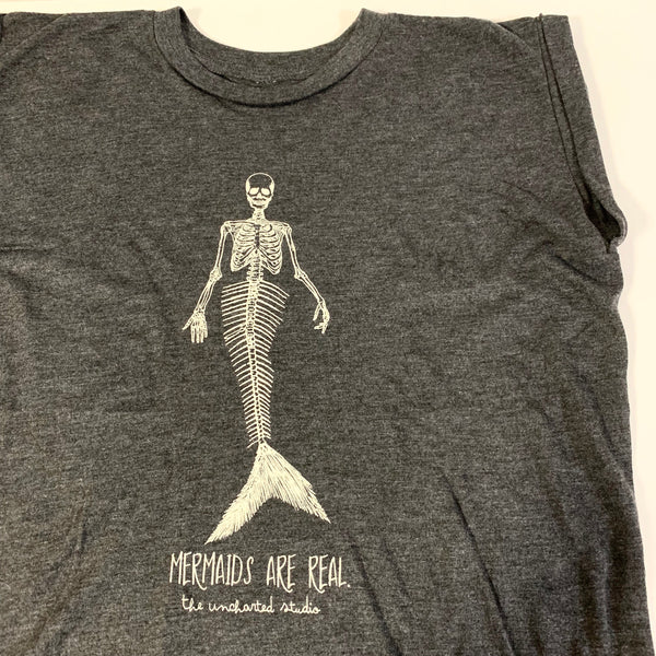 Mermaids Are Real Muscle Tee