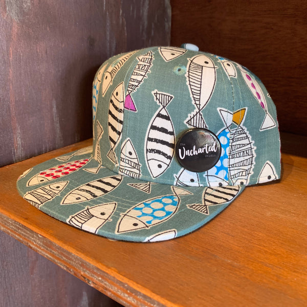 Kids Fishy Snapback Hat