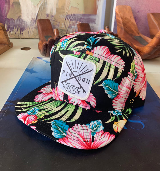 Surf Uncharted Floral Camper Hat
