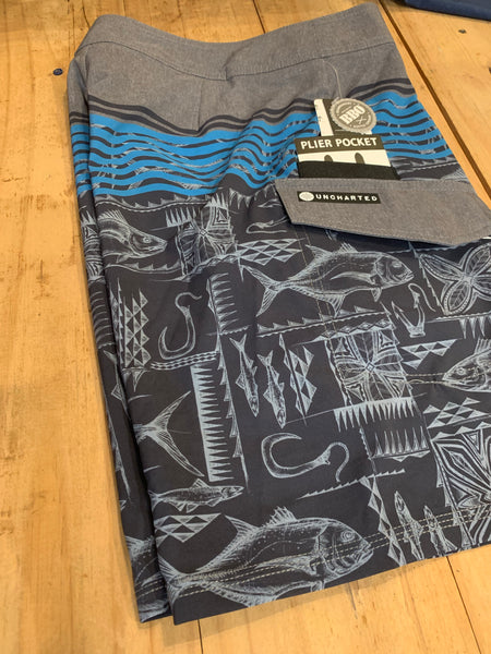 Uncharted Hooked Boardshorts