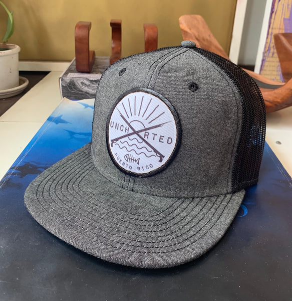 Uncharted Spearfishing Snapback Hat
